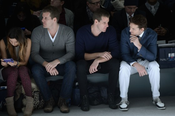 Nautica Men's - Front Row - Fall 2013 Mercedes-Benz Fashion Week