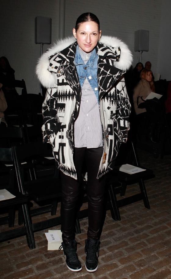 Yigal Azrouel - Front Row - Fall 2013 Mercedes-Benz Fashion Week