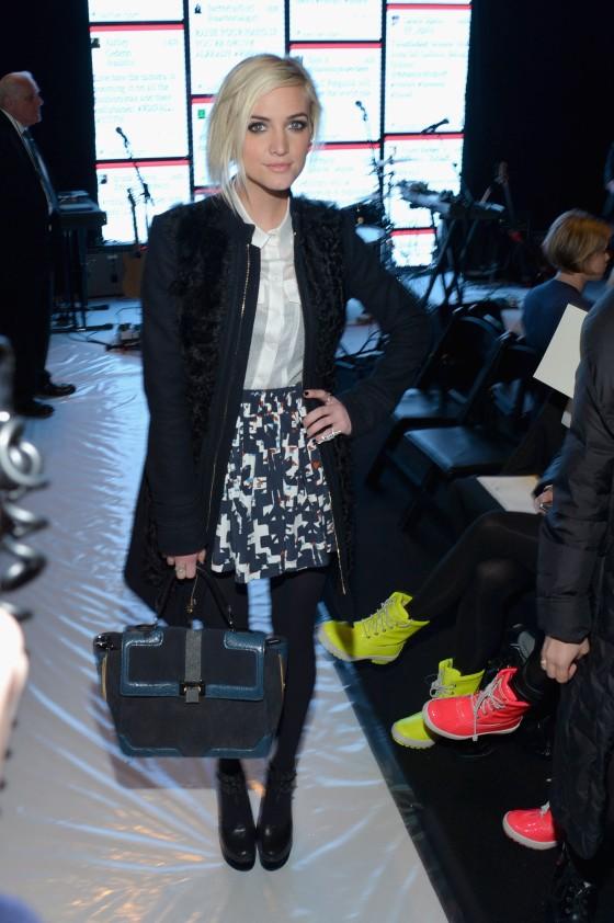 Rebecca Minkoff  - Front Row - Fall 2013 Mercedes-Benz Fashion Week