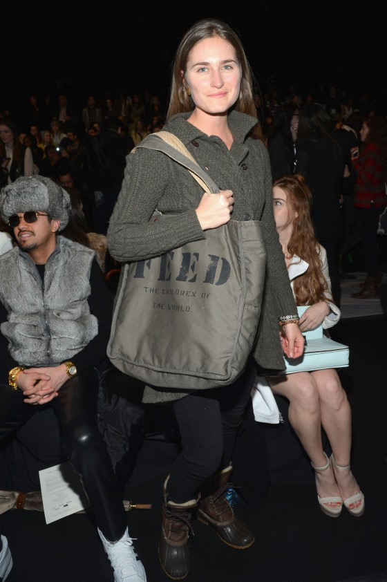 Rebecca Minkoff  - Front Row - Fall 2013 Mercedes-Benz Fashion Week