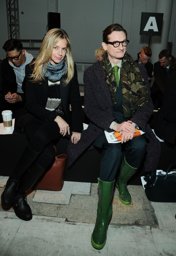 Libertine - Front Row - Fall 2013 Mercedes-Benz Fashion Week