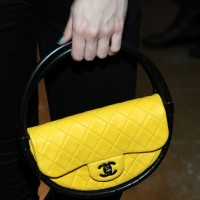 The Chanel Hula Hoop Bag Makes an Appearance at NYFW