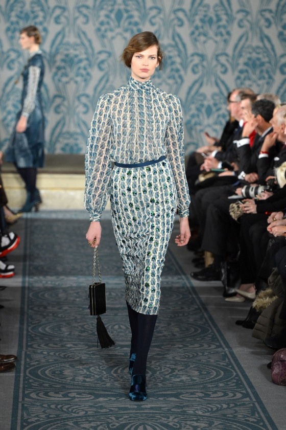 Tory Burch - Runway - Fall 2013 Mercedes-Benz Fashion Week