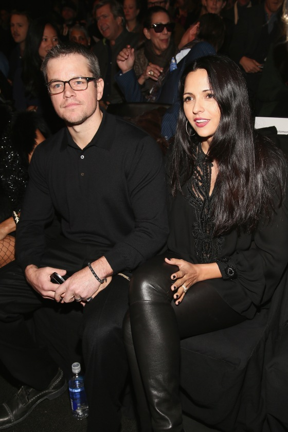 Naeem Khan - Front Row - Fall 2013 Mercedes-Benz Fashion Week
