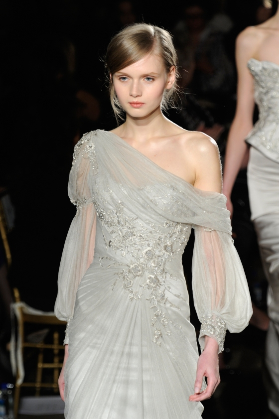 Marchesa - Runway - Fall 2013 Mercedes-Benz Fashion Week