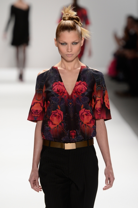 Nanette Lepore - Runway - Fall 2013 Mercedes-Benz Fashion Week