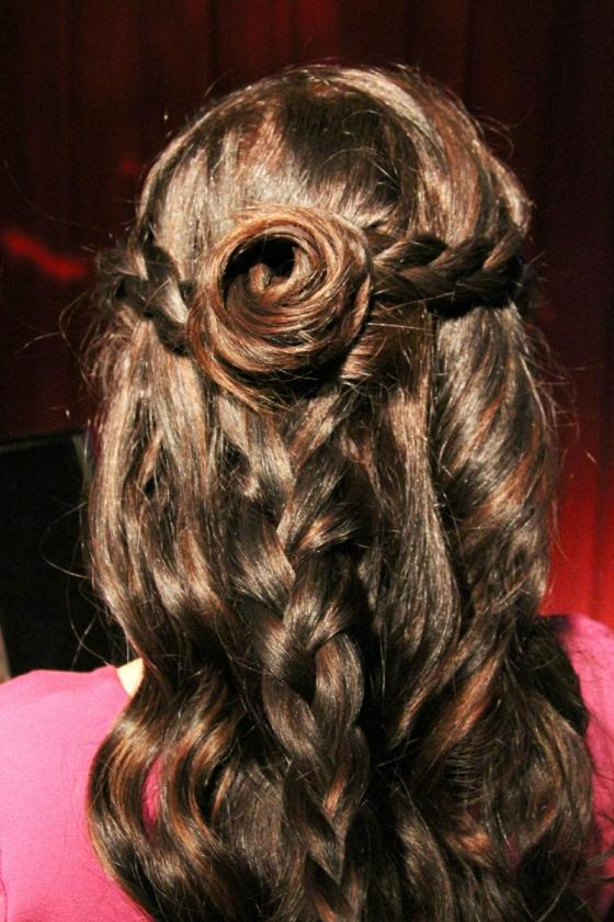 Pureology Oscar hairdo