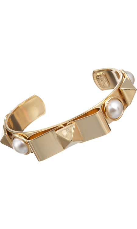 Fallon Bow and Pearl Cuff, $79, BarneysWarehouse.com