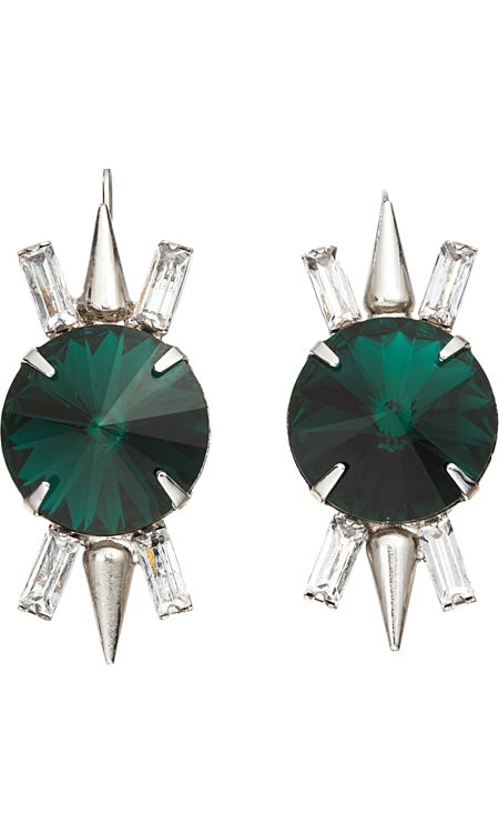 Fallon Crystal Spike Earrings, $109,