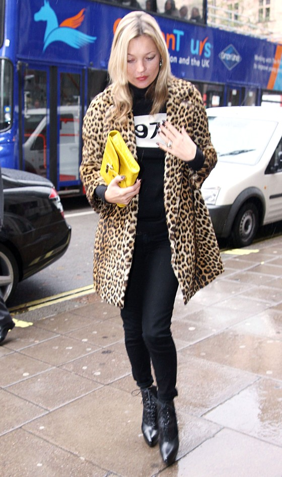 Kate Moss Steps Out In London