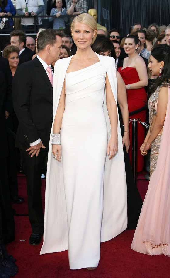 Gwyneth Paltrow in Tom Ford in 2012