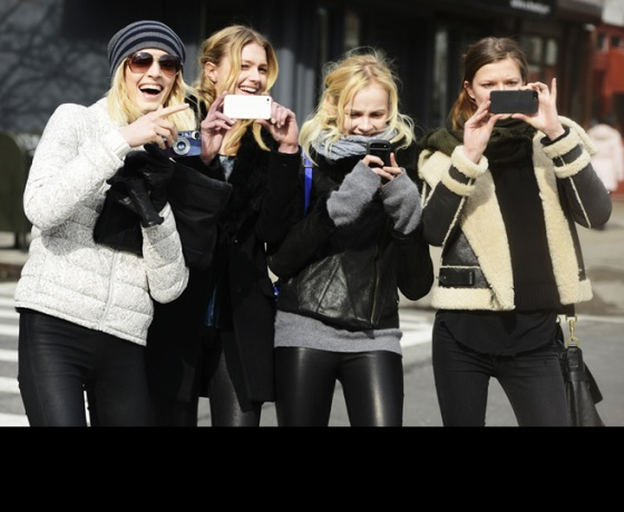 Street Stylers Turn the Cameras on the Street Style Cameras