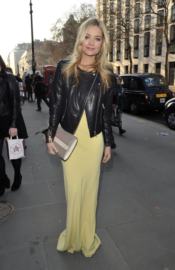 London Fashion Week - Autumn/Winter 2013 - Maria Grachvogel  - Outside Arrivals