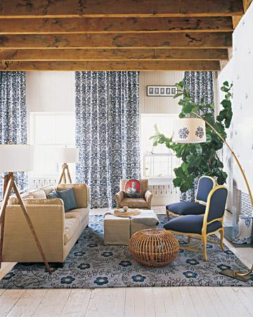 Modern Farmhouse Apt via Martha Stewart Living
