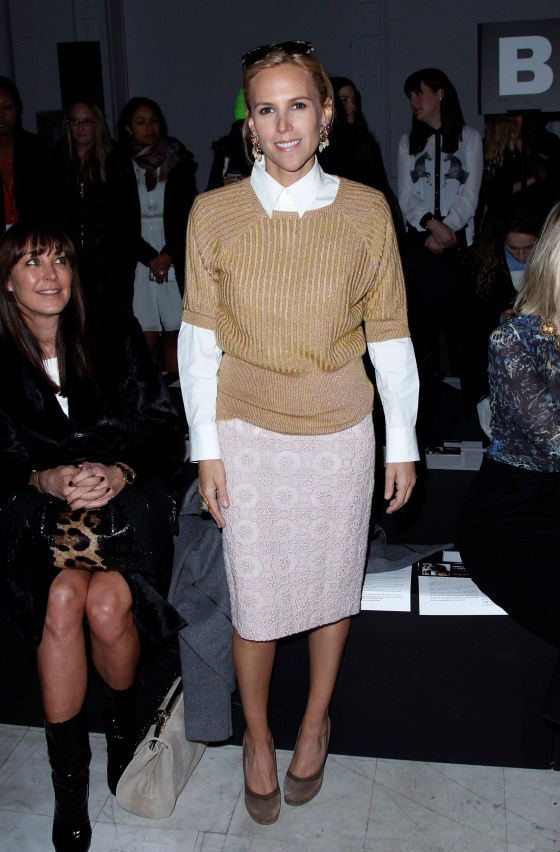 Kimberly Ovitz - Front Row - Fall 2013 Mercedes-Benz Fashion Week