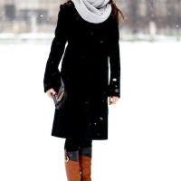 This is What They Wear in Paris When It Snows