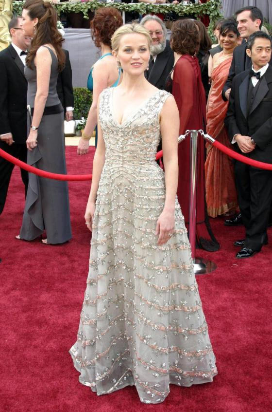 Reese Witherspoon in Christian Dior in 2006