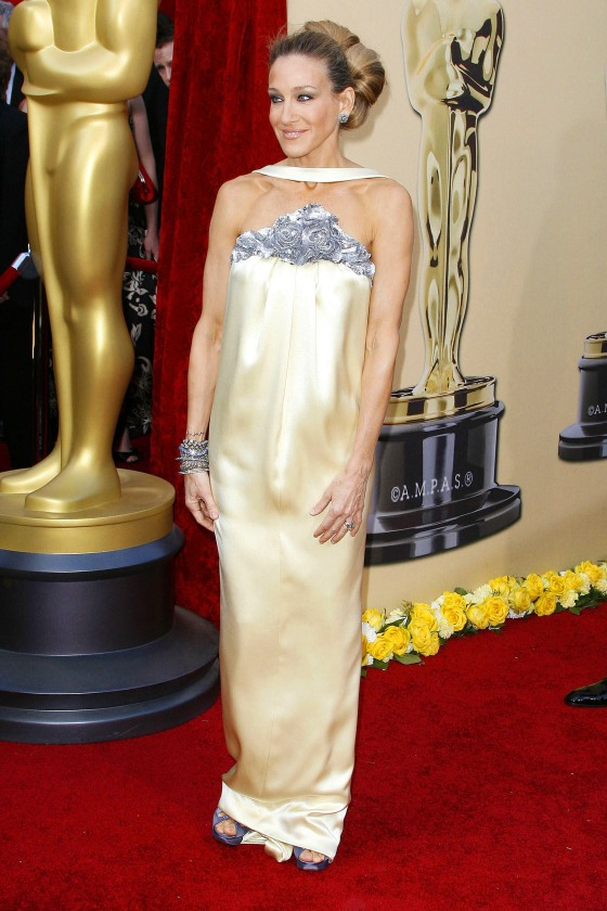 Sarah Jessica Parker in Chanel Haute Couture in 2010
