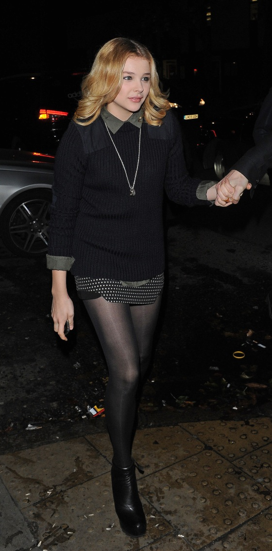 Celebrities leaving Rihanna's gig at the HMV Forum, in Kentish Town