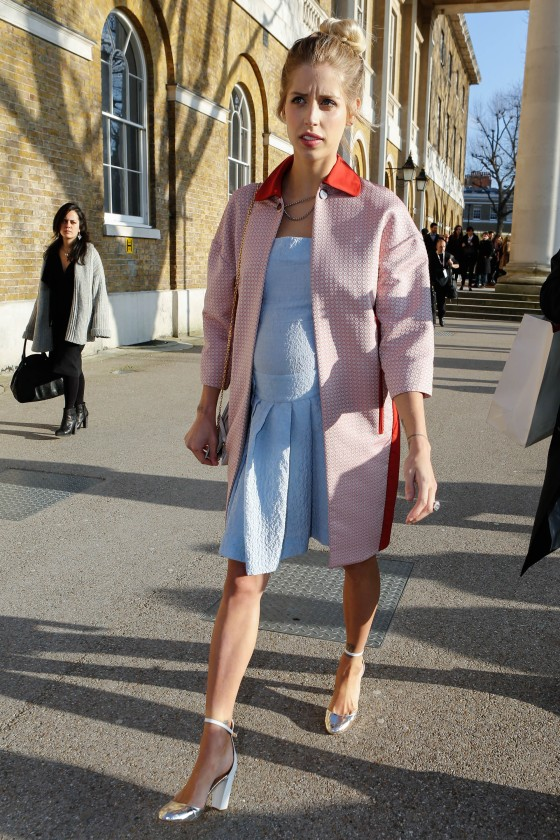 London Fashion Week - Autumn/Winter 2013 - General Arrivals