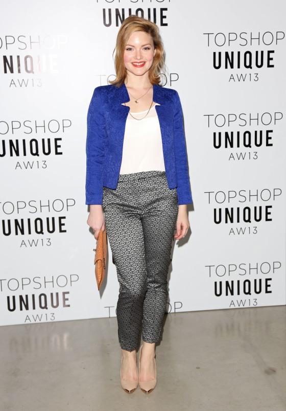 London Fashion Week - Autumn/Winter 2013  - Topshop Unique- Front Row