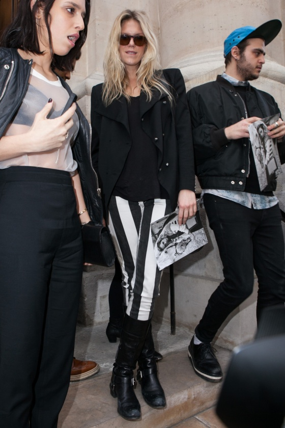 Alexandra Richards attends Jean-Charles de Castelbajac Fashion Show at the Paris Fashion Week