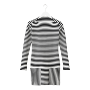 Long-Sleeve Striped Sheath, $140