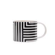 Striped mug, $10 each
