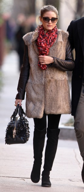Olivia Palermo And Beau Johannes Huebl Grab Lunch