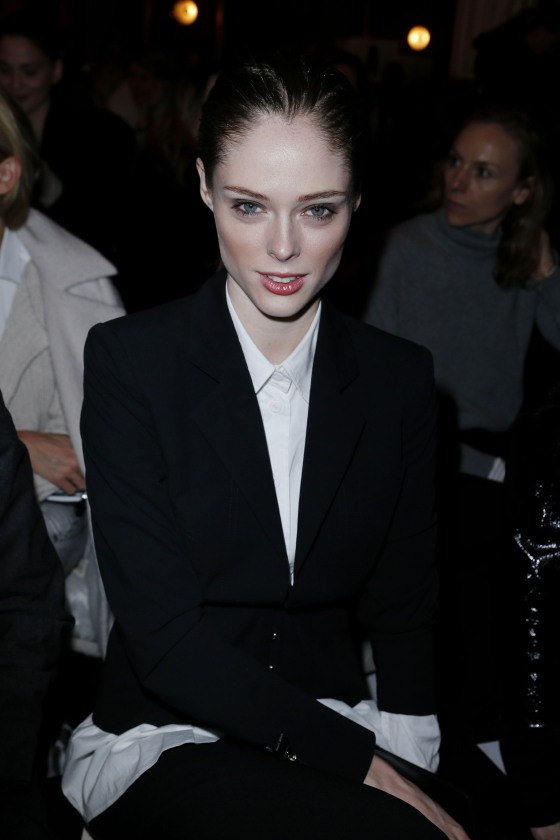 Paris Fashion Week - Autumn/Winter 2013 - Jean Paul Gaultier - Front Row
