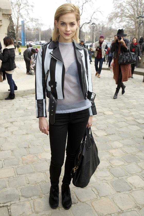 Paris Fashion Week - Autumn/Winter 2013 - Acne Studios - Arrivals