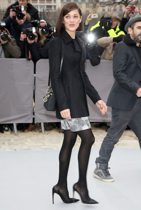 Christian Dior Fall/Winter 2013 Fashion Show- Arrivals