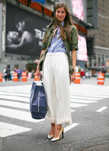 They're Back! How to Wear The New Culottes