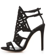 Brian Atwood black sandals