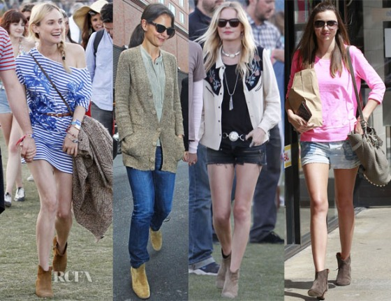 Celebs Love Isabel Marant Booties