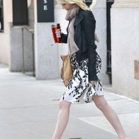 Chilly Spring Outfit Courtesy of Emma Stone