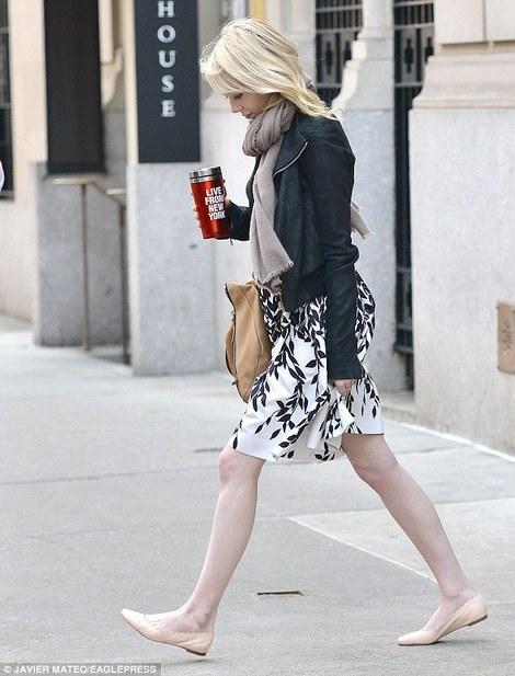 Emma Stone in Blumarine