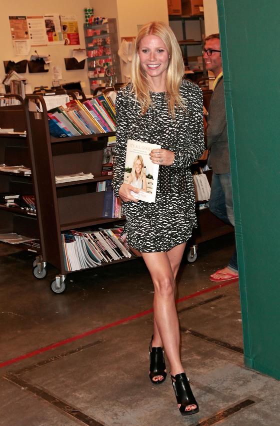 Gwyneth Paltrow book signing