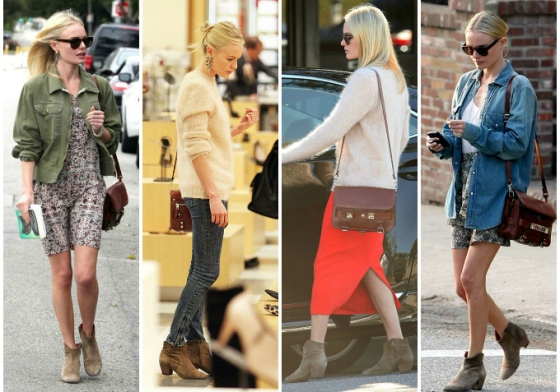 Kate Bosworth in Isabel Marant Booties
