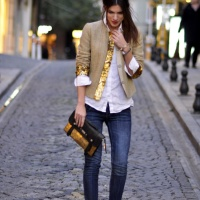 Today's Outfit Inspiration: Golden Touch